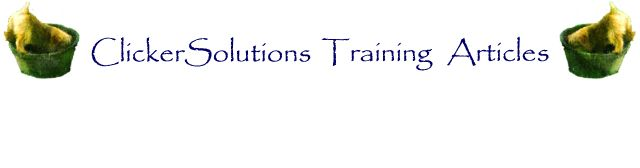 ClickerSolutions Training Articles